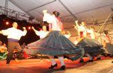 Folklore a cargo de Coros y Danzas 'Virgen del Rosario' en las fiestas de Puerto Lumbreras