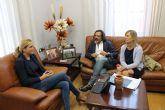 Convertir Archena en un destino gastroturístico, resultados de la reunión entre responsables de la UCAM y la Alcaldesa Fernández