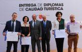 Cuatro empresas de Puerto Lumbreras reciben el diploma con el sello de Calidad Turística SICTED