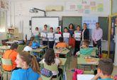 Premian a escolares lumbrerenses que participan en la campaña ´Crece en Seguridad´
