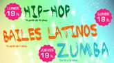 El Centro Deportivo Move presenta nuevas actividades para jóvenes: HIP HOP, BAILES LATINOS, ZUMBA