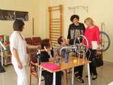 Familia destina 385.000 euros a la atención de personas con discapacidad intelectual y mayores en Puerto Lumbreras