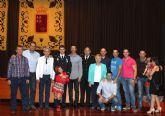 El agente de Policía Local de Puerto Lumbreras José Manuel Vico recibe la Cruz al Mérito de la Orden de la Guardia Civil