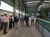 La nueva planta de tratamiento de residuos dom�sticos de Lorca mejora la clasificaci�n y el proceso biol�gico de la basura