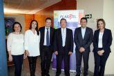 El Alcalde de Alcantarilla, Joaquín Buendía, visita Plasbel Plásticos, empresa líder nacional en bolsas reutilizables