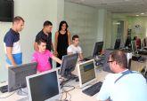Nueva aula de informática en el centro urbano de Puerto Lumbreras