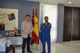 Un sanjaviereño, Rubén Pérez, lidera la Patrulla Acrobática Águila en su 30 Aniversario
