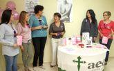 El Ayuntamiento y la AECC de Puerto Lumbreras presentan la programación de actividades con motivo del Día Mundial de Cáncer de Mama