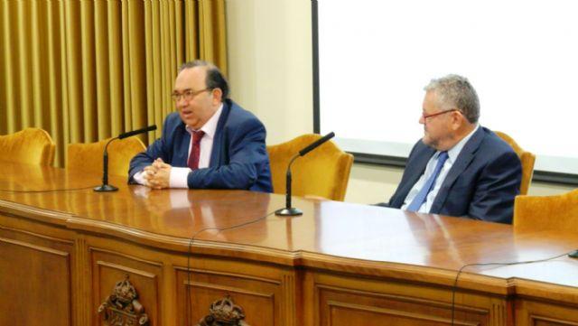El rector Orihuela asiste en el CEBAS-CSIC  a  la presentación de proyectos  de alumnos de Secundaria - 1, Foto 1