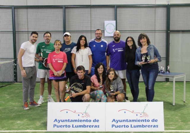 Puerto Lumbreras acogió el primer Campeonato de Pádel en la nueva pista de pádel interior - 1, Foto 1