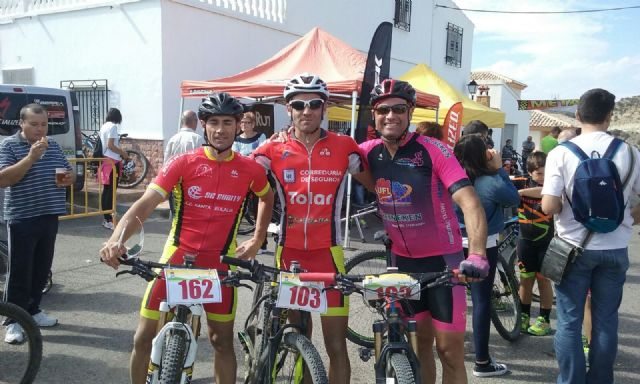 Francisco Canovas goes up to the podium in Arboleas and José Andreo continuous leader in Albacete