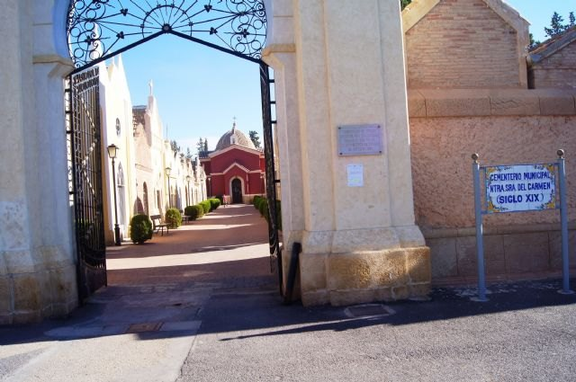 """Maintenance and security and emergency device for the feast of """"All Saints"""" in the municipal cemetery"""