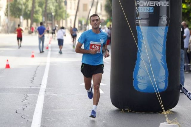 Victor Garcia, Totana Athletics Club, 2nd in its category and 7th overall in Marathon III Murcia