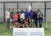 Puerto Lumbreras acogió el primer Campeonato de Pádel en la nueva pista de pádel interior