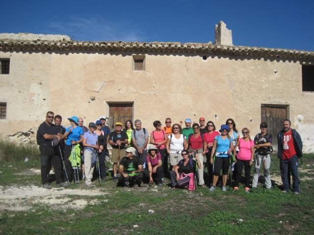 Nearly thirty people participate in the second day of hiking program, making a tour of Coy and The Watchtower
