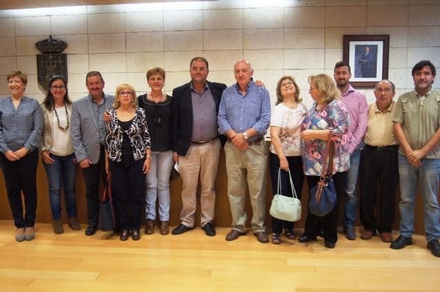 Inauguration of the president of the Municipal Center Senior Plaza Balsa Vieja and members of the new Board of Directors for 2015/2019 legislastura