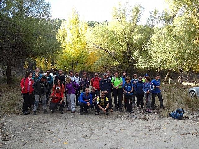 The Club of Totana Walker visited the Sierra de Baza
