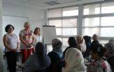 Servicios Sociales imparte un taller de español para  mujeres inmigrantes
