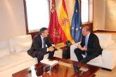El nuevo IES Valle de Leiva, tema central del encuentro entre el Alcalde y el presidente Pedro Antonio S�nchez