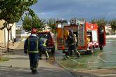 Los bomberos coordinan simulacros de incendios y evacuación en los institutos de San Pedro del Pinatar