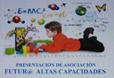 La presentación de la Asociación Furtur@ Altas Capacidades tendrá lugar el próximo 4 de noviembre