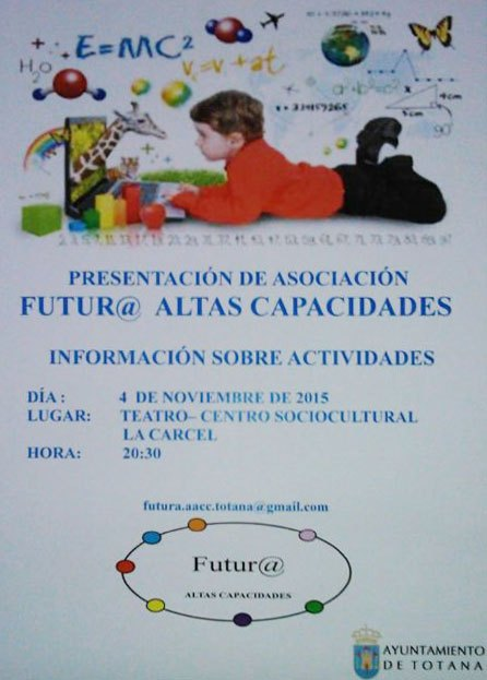 Presentation of the Association Furtur @ High Capacity will take place on November 4