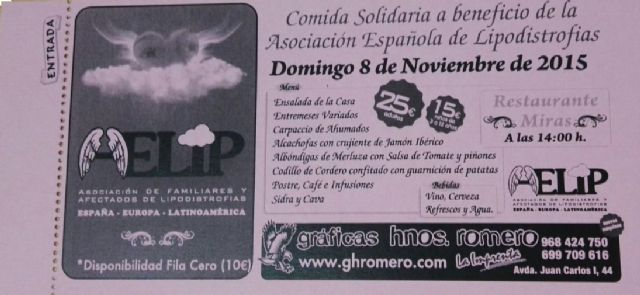 AELIP organized a solidarity dinner to be held on November 8