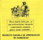 """El proyecto """"Escuela de Aprendizaje a Domicilio"""" se celebrará en una sesión al mes desde febrero a mayo del 2016"""