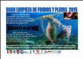Mazarrón se suma a la gran limpieza nacional de fondos que organiza la red de vigilantes marinos