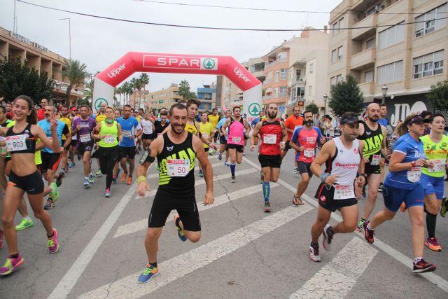 Cerca de 400 atletas participan en la III Media Maratón y 7K Villa de Puerto Lumbreras - 1, Foto 1