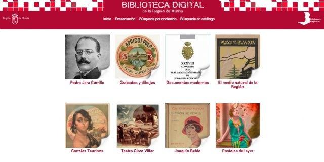 Cultura amplía la Biblioteca Digital de la Región con cuatro nuevos canales, entre los que se encuentra uno dedicado al poeta Jara Carrillo - 1, Foto 1
