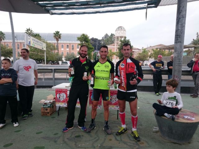 Totana Athletics Club participated in the II Solidarity Race All Heart