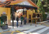 El Cementerio San Damián de Puerto Lumbreras se prepara para celebrar el Día de los Santos
