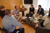 'Guadalentín Emprende', que aglutina a jóvenes empresarios de la comarca, se reúne con autoridades municipales