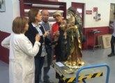 El Centro de Restauración de la Región inicia los trabajos para recuperar la Virgen del Rosario de Santomera