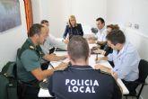 Los delitos leves disminuyen y las incidencias por ruidos  han cesado, según conclusiones de la reunión de la Junta Local de Seguridad