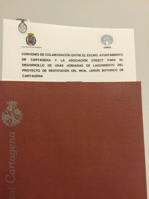 José López reafirma el apoyo del Ayuntamiento a la restitución del Real Jardín Botánico de Cartagena - 2, Foto 2
