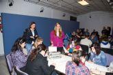 Voluntarios de la ONCE realizan en Caravaca el proyecto 'Descubriendo capacidades'