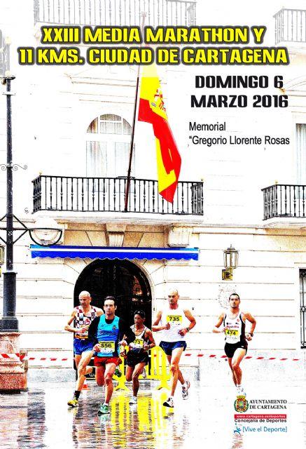 Abierto el plazo de inscripción para la Media Marathon Ciudad de Cartagena - 1, Foto 1