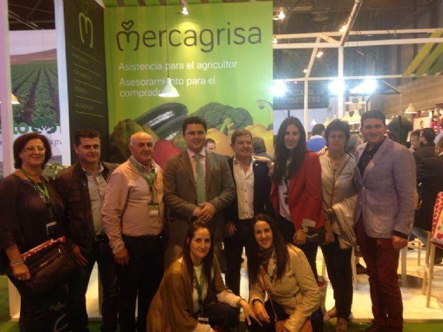 El Alcalde acude a la feria Fruit Attraction para apoyar la amplia  presencia local en la feria internacional de frutas y hortalizas que se celebra en Madrid - 2, Foto 2