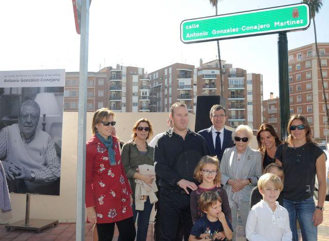 Una calle del centro de Murcia lleva desde hoy el nombre de Antonio González-Conejero - 3, Foto 3