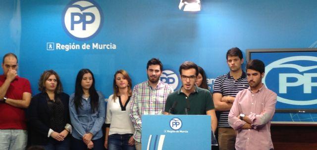 Salvador Madrid: Seremos la voz y la referencia de los jóvenes murcianos - 1, Foto 1