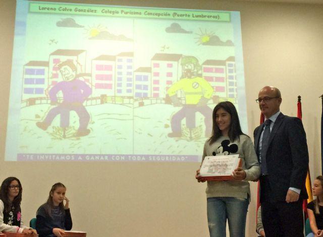 """La alumna Lorena Calvo del CEIP Purísima Concepción ha sido premiada en el Concurso """"Crece en Seguridad"""" - 2, Foto 2"""