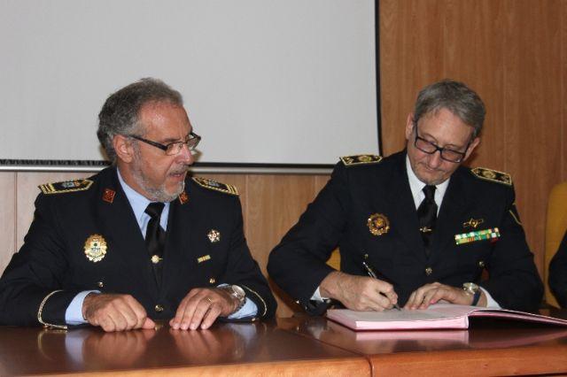 La Asociación de jefes de Policía Local de la Región de Murcia, se adhiere a UNIJEPOL - 1, Foto 1