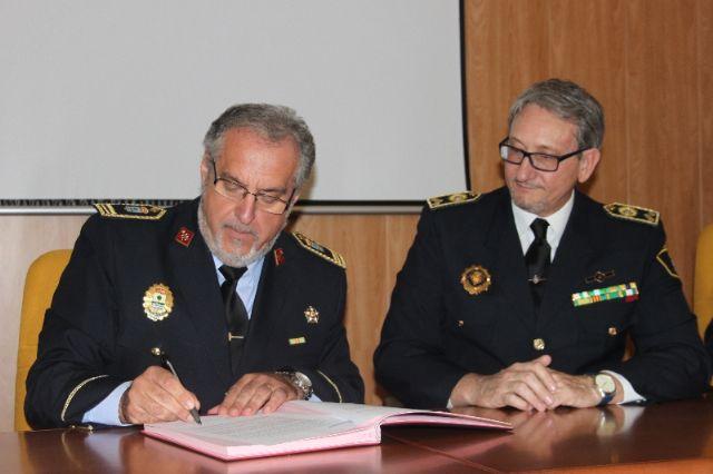 La Asociación de jefes de Policía Local de la Región de Murcia, se adhiere a UNIJEPOL - 2, Foto 2