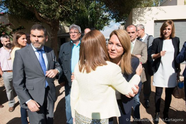 El alcalde acompaña a la Secretaria de Estado de Servicios Sociales en su visita a Cartagena - 2, Foto 2