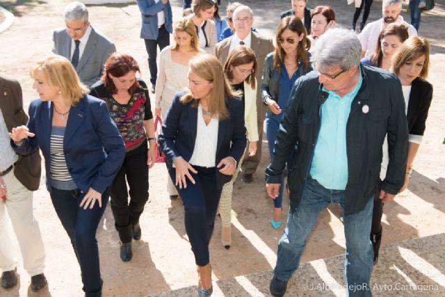 El alcalde acompaña a la Secretaria de Estado de Servicios Sociales en su visita a Cartagena - 3, Foto 3