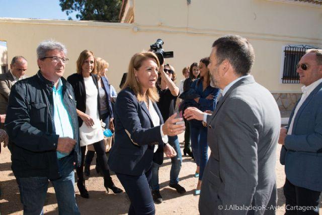 El alcalde acompaña a la Secretaria de Estado de Servicios Sociales en su visita a Cartagena - 4, Foto 4