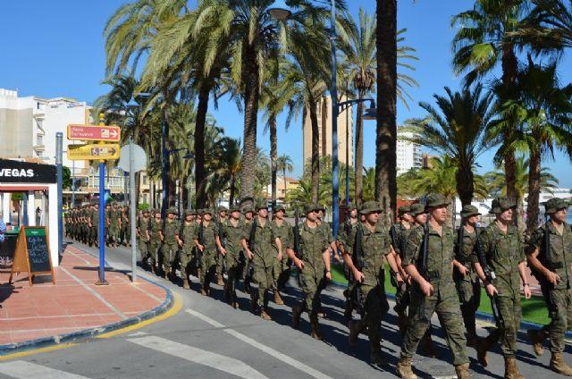 La AGA sorprende a los vecinos de Santiago de la Ribera con una marcha de todos sus alumnos por el centro de la localidad - 1, Foto 1