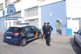 Detenidos 'in fraganti' por la Policía Nacional cuando estaban robando en una nave industrial